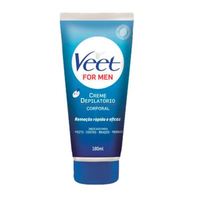 Creme Depilatório Corporal Veet For Men 180ml