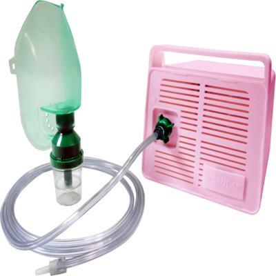 Imagem 1 do produto Nebulizador Inalador Nebular Plus Rosa Daru