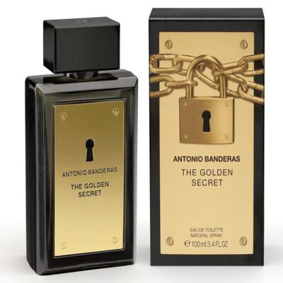 The Golden Secret By Antonio Banderas Eau De Toilette Masculino - 200 ml