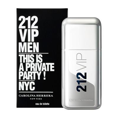 212 Vip Men By Carolina Herrera Eau De Toilette Masculino - 100 ml