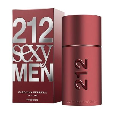 212 Sexy Men De Carolina Herrera Eau De Toilette Masculino - 100 ml