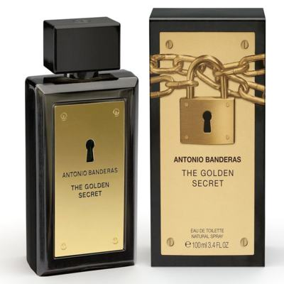 The Golden Secret By Antonio Banderas Eau De Toilette Masculino - 100 ml