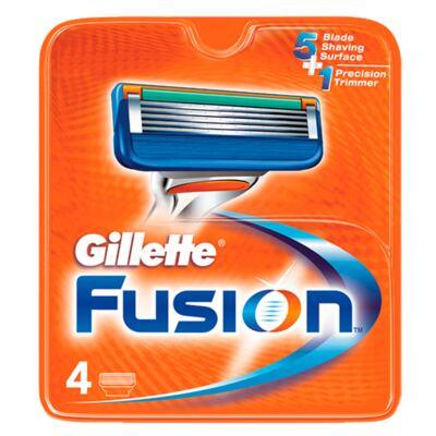 Gillette Fusion - Lâmina de Barbear - 4 Un