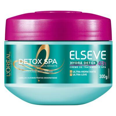 Imagem 4 do produto Kit Condicionador + Shampoo + Creme de Tratamento L'Oréal Paris Elseve Hydra-Detox - Kit