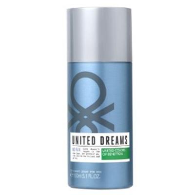 Imagem 1 do produto United Dreams Desodorante Go Far Benetton Masculino - 150 ml