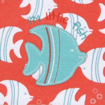 Imagem 2 do produto Saco para roupa suja em malha Cute Fish - Classic for Baby