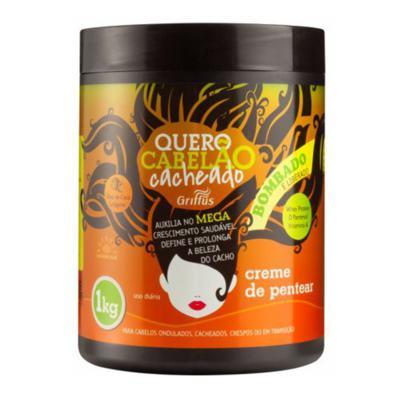 Imagem 1 do produto Griffus Quero Cabelão Cacheado - Leave-in - 1kg