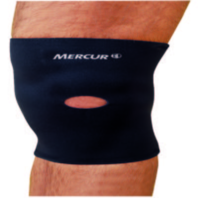 Imagem 1 do produto Joelheira Esporte Com Orificio Bc0036 Mercur - Preto G