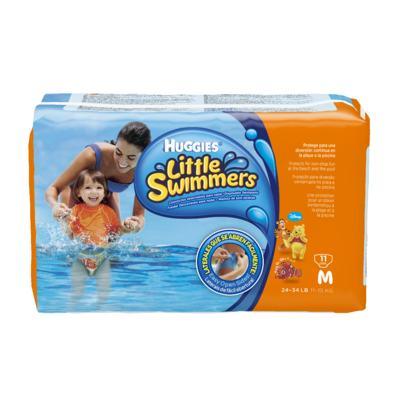 Imagem 1 do produto Fralda Descartável Little Swimmers Piscina M 11 Unidades