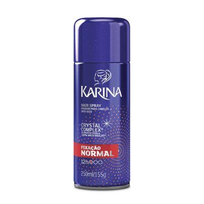 Imagem 1 do produto Fixador para Cabelos Karina Spray 250ml