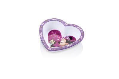 Imagem 1 do produto Prato Fundo Coração para Microondas Minnie Multikids Baby - BB095