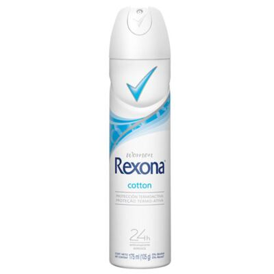 Desodorante Rexona Aerosol Cotton Feminino - 175 ml