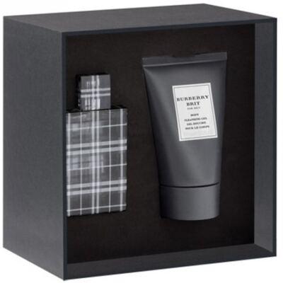 Imagem 1 do produto Brit For Men Burberry - Masculino - Eau de Toilette - Perfume + Gel para Banho - Kit