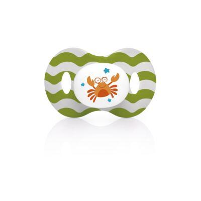 Imagem 1 do produto Chupeta Ocean Pp Verde Ortoflex Tam 1 (0-6 M) Multikids Baby - BB135
