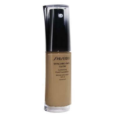 Base Liquida Shiseido - Synchro Skin Glow Luminizing Fluid Foundation SPF 20 - N4