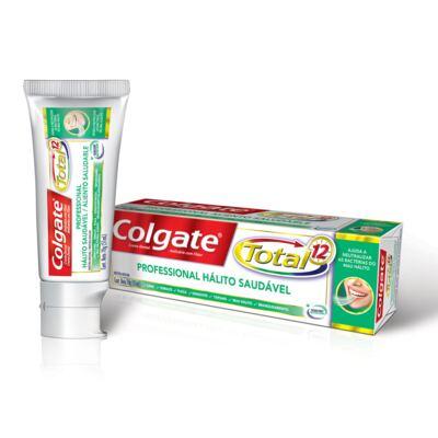 Imagem 1 do produto Creme Dental Colgate Total 12 Professional Hálito Saudável 70g
