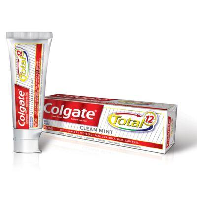 Imagem 1 do produto Creme Dental Colgate Total 12 90g Clean Mint