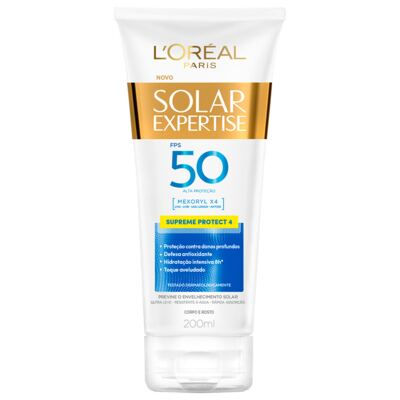 Protetor Solar L'Oréal Expertise Supreme FPS 50 200ml