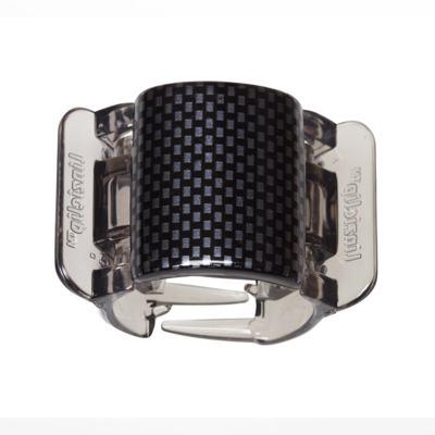 Imagem 1 do produto Prendedor de Cabelos Linziclip Core - Black - Grey Check Gloss