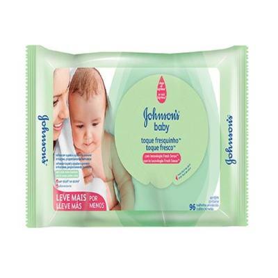 Imagem 1 do produto Lenço Umedecido Johnson´s Baby Toque Fresquinho 96 Unidades