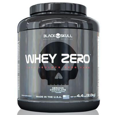 Whey Zero 4,4Lbs - Black Skull