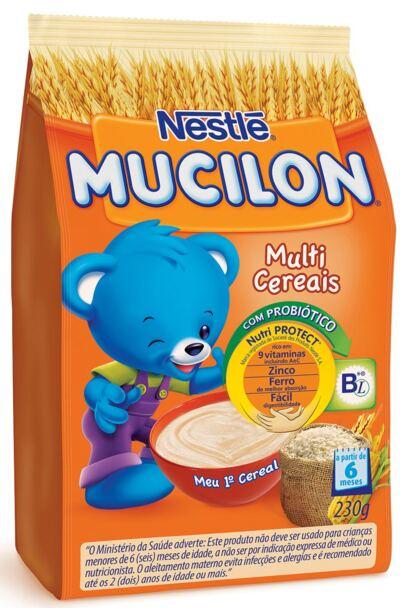 Cereal Infantil Nestlé Mucilon Multicereais 230g