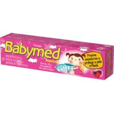 Pomada para Assadura Babymed Menina 45g