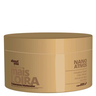 Imagem 4 do produto Kit Shampoo + Protetor Térmico + Máscara About You Mais Loira - Kit