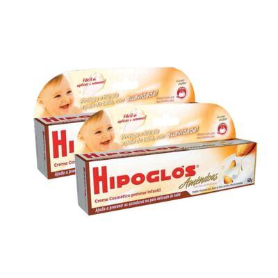 Imagem 1 do produto Kit Pomada para Assaduras Hipoglós Amêndoas 40g 2 Unidades