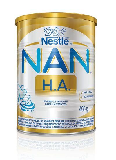 Fórmula Infantil NAN H.A. Lata 400g