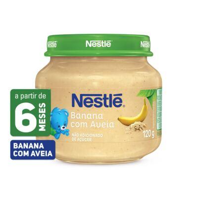 Papinha Nestlé Banana Aveia 115g