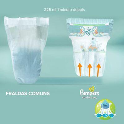 Imagem 6 do produto Fralda Descartável Pampers Confort Sec XG 34 Unidades