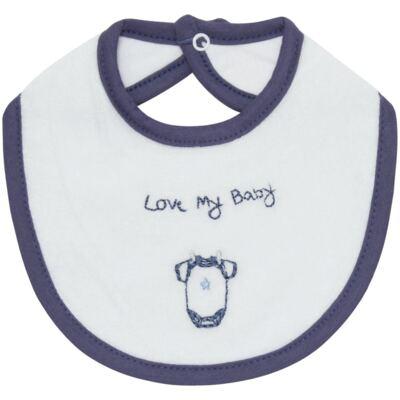 Imagem 1 do produto Babador atoalhado Clothes Boy - Classic for Baby
