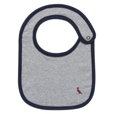 Imagem 1 do produto Babador para bebe em malha Mescla - Reserva Mini