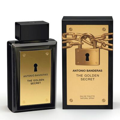 The Golden Secret Antonio Banderas - Perfume Masculino - Eau de Toilette - 100ml