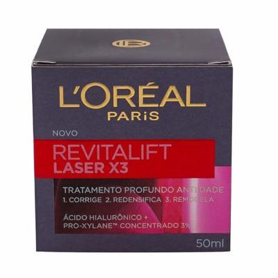 Imagem 3 do produto Creme Anti-Idade L'Oréal Paris Revitalift Laser X3 Diurno - 50ml