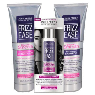 Imagem 1 do produto Kit Shampoo + Condicionador + Primer John Frieda Frizz Ease Beyond Smooth Frizz Immunity - Kit