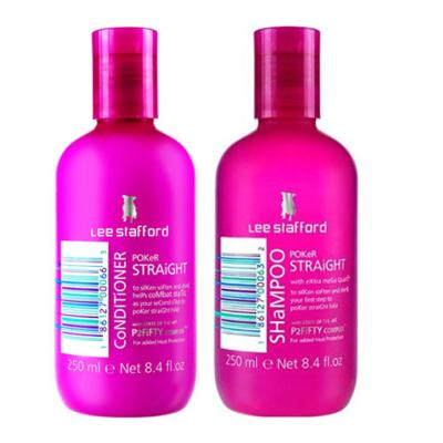 Imagem 2 do produto Kit Shampoo + Condicionador Lee Stafford Pocker Straight - Kit