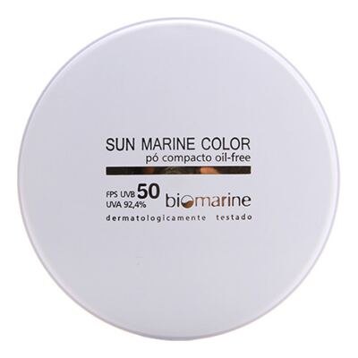 Sun Marine Color Compacto FPS50 Biomarine - Pó Compacto 12g - Natural