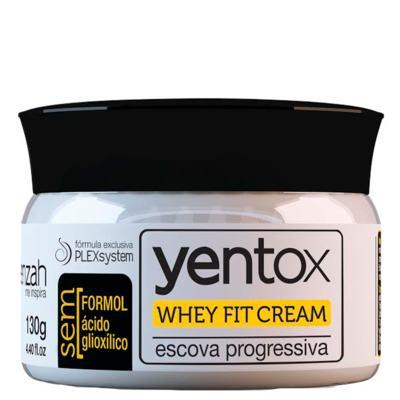 Escova Progressiva Yenzah Yentox Whey Fit Cream - 130g