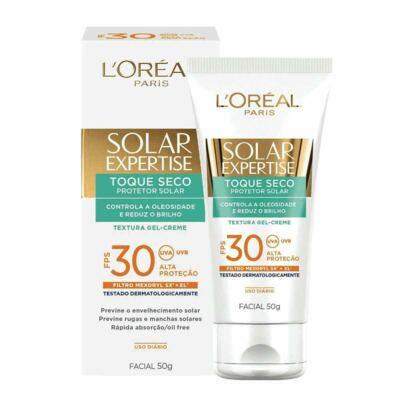 Imagem 2 do produto Protetor Solar L'Oréal Facial Expertise Toque Seco FPS 30 50g