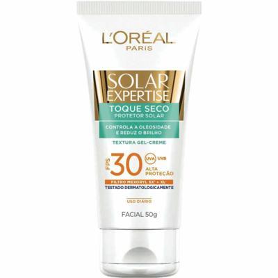 Imagem 2 do produto Protetor Solar Facial L'Oréal Expertise Toque Seco FPS 30 50g
