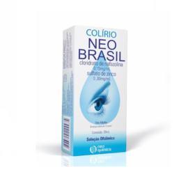 Colírio Neo Brasil Solução Oftálmica - 0,15mg/ml + 0,30mg/ml   20ml