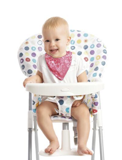 Imagem 2 do produto Babador Bandana Flores Multikids Baby - BB221