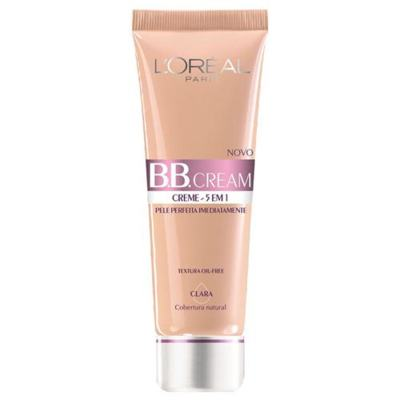 BB Cream 5 em 1 SPF20 50ml L'oréal Paris - Base - Claro