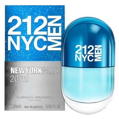 Imagem 2 do produto 212 NYC Men Pills Carolina Herrera - Perfume Masculino - Eau de Toilette - 20ml