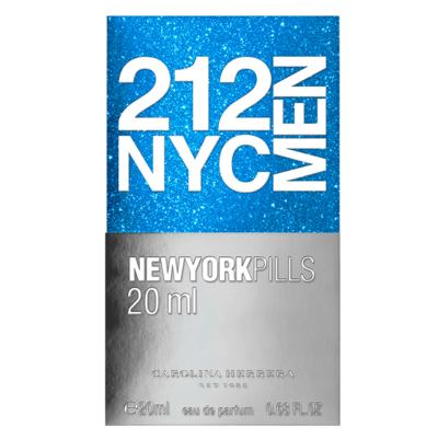 Imagem 3 do produto 212 NYC Men Pills Carolina Herrera - Perfume Masculino - Eau de Toilette - 20ml