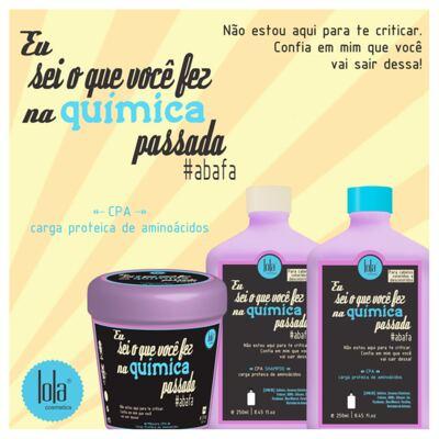 Imagem 2 do produto Lola Cosmetics Eu Sei o Que Você Fez na Química Passada - Máscara Capilar - 230g