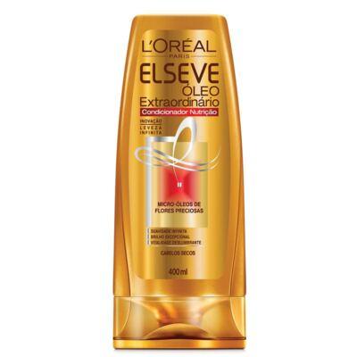 Imagem 3 do produto Kit Elseve Óleo Extraordinário Nutrição Shampoo 400ml + Condicionador 400ml