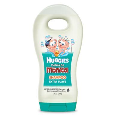 Imagem 2 do produto Shampoo Turma da Mônica Suave 200ml + Sabonete Turma da Mônica Huggies Hidratante 75g
